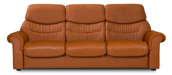 Stressless Liberty High Back 3 Seater Sofa Ekornes