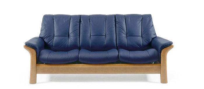 Stressless Windsor Lowback Sofa | Modern Recliner Leather ...